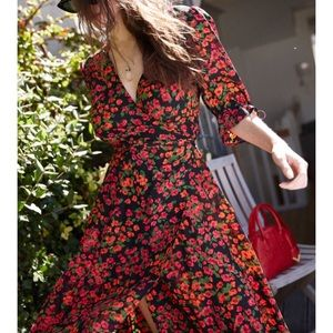 2de554584fd02f The Kooples Dresses - The Kooples Long Camelia Rose 🌹 Dress